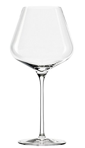 Stölzle Lausitz Burgunder Roweingläser Quatrophil 708ml, 6er Set bauchige Weingläser, wie mundgeblasen, spülmaschinenfest, hochwertige Qualität