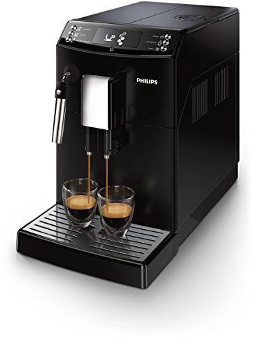 Philips EP3510/00 Kaffeevollautomat, Milchschaumdüse, AquaClean, schwarz
