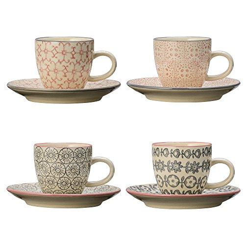 Bloomingville Espresso Tassen Cécile 4er Set