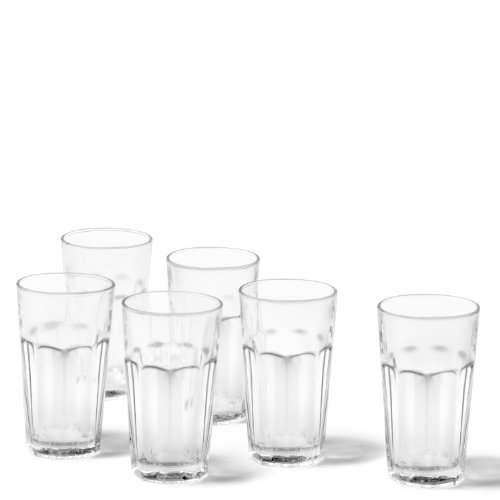 LEONARDO 012998 - Set/6 Longdrink Becher Rock