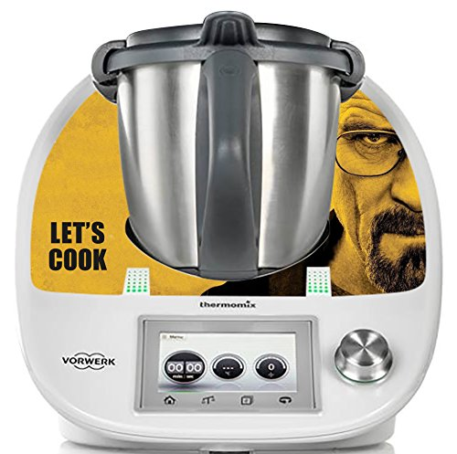 Deko-Aufkleber sticker für Thermomix TM5 Breaking Bad