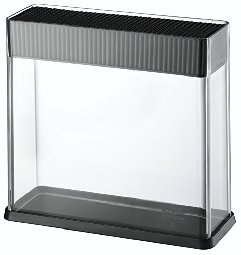 Kuhn Rikon 26594 Messerblock Vision, schwarz / transparent