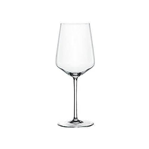 Spiegelau & Nachtmann, 4-teiliges Weißweinglas-Set, Kristallglas, 440 ml, Style, 4670182